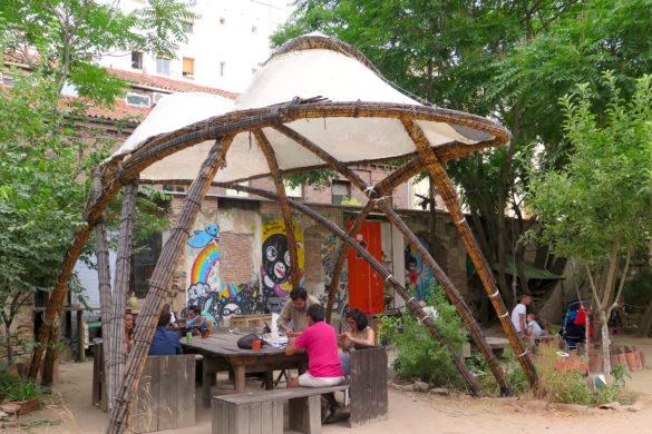 Esta es una Plaza Picnic Area