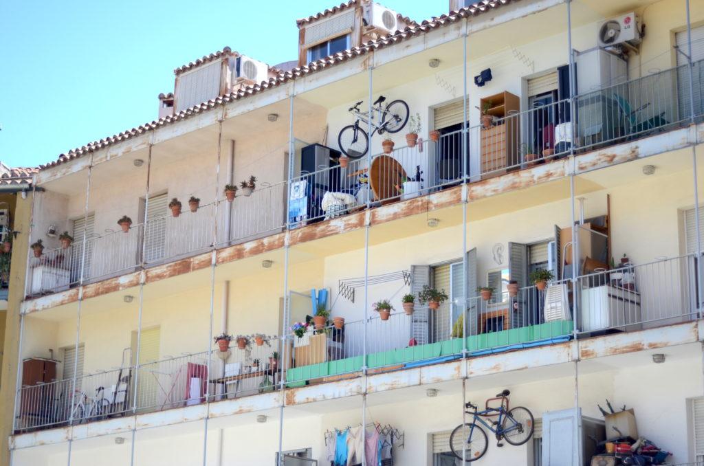 Corrala on Calle Ribera de Curtidores, La Latina
