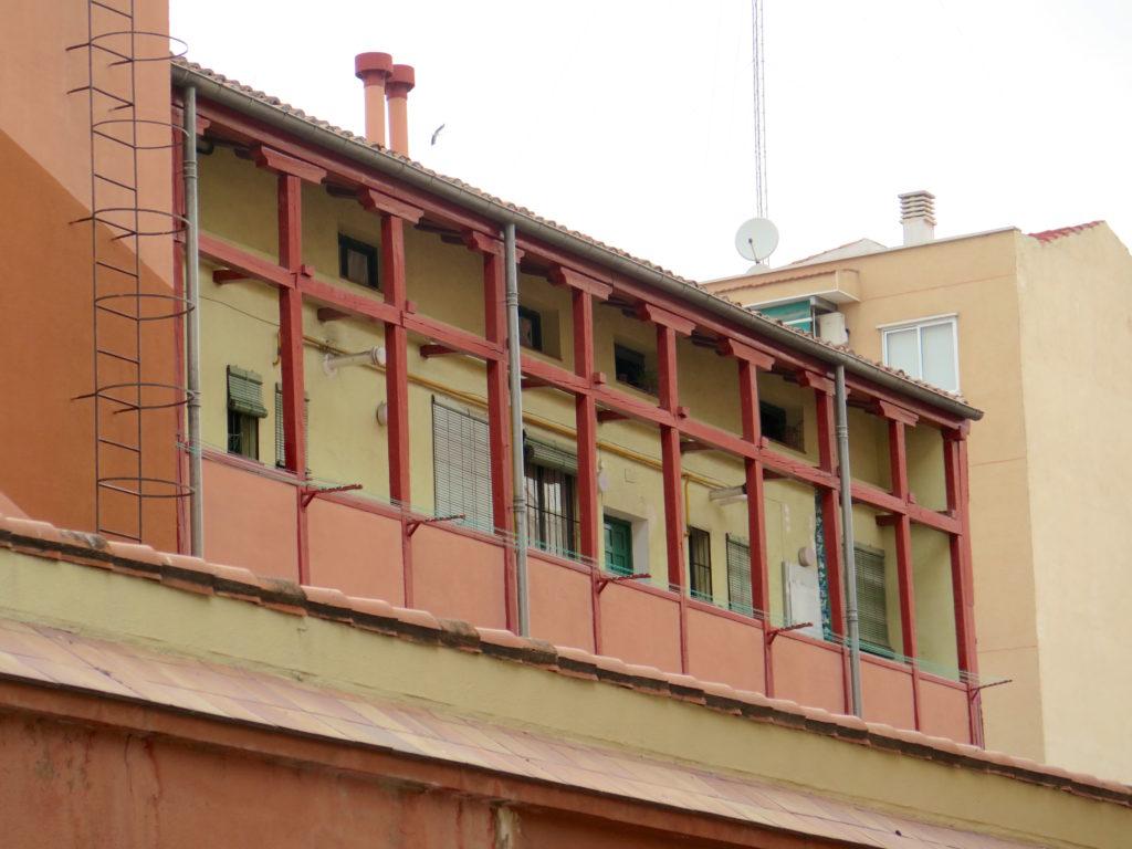 Corrala on Calle Miguel Servet, Lavapiés