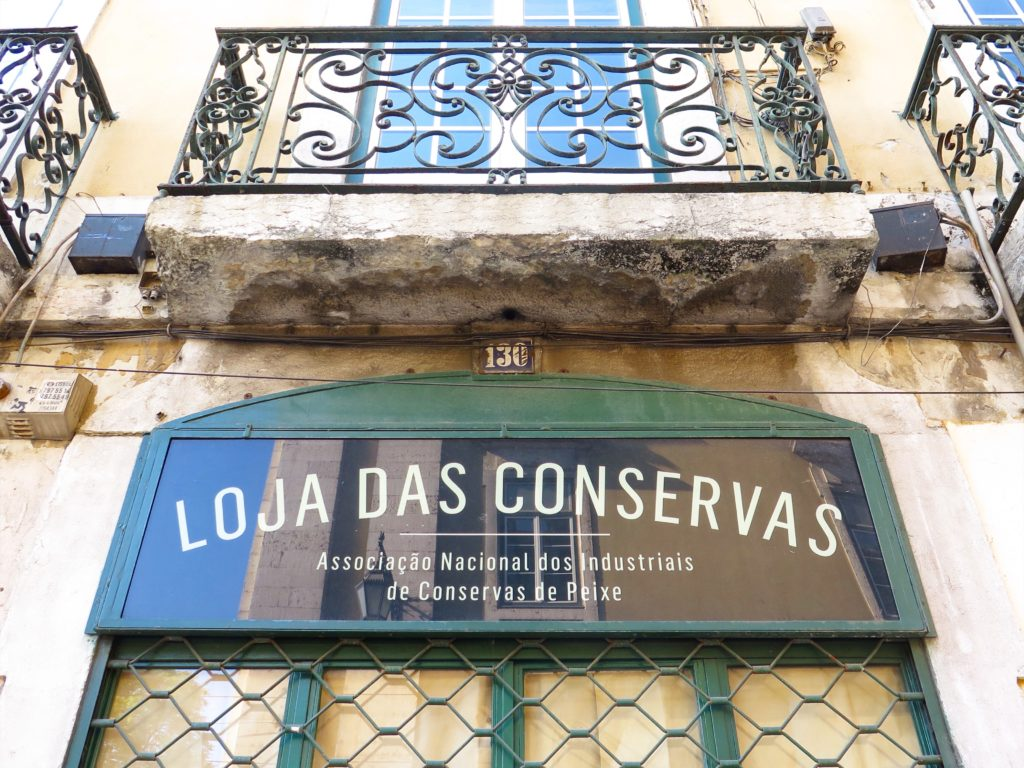 A proud Lisbon preserves store