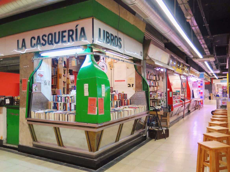 The Façade of La Casquería bookstore