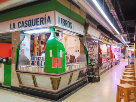 The Façade of La Casquería bookstore