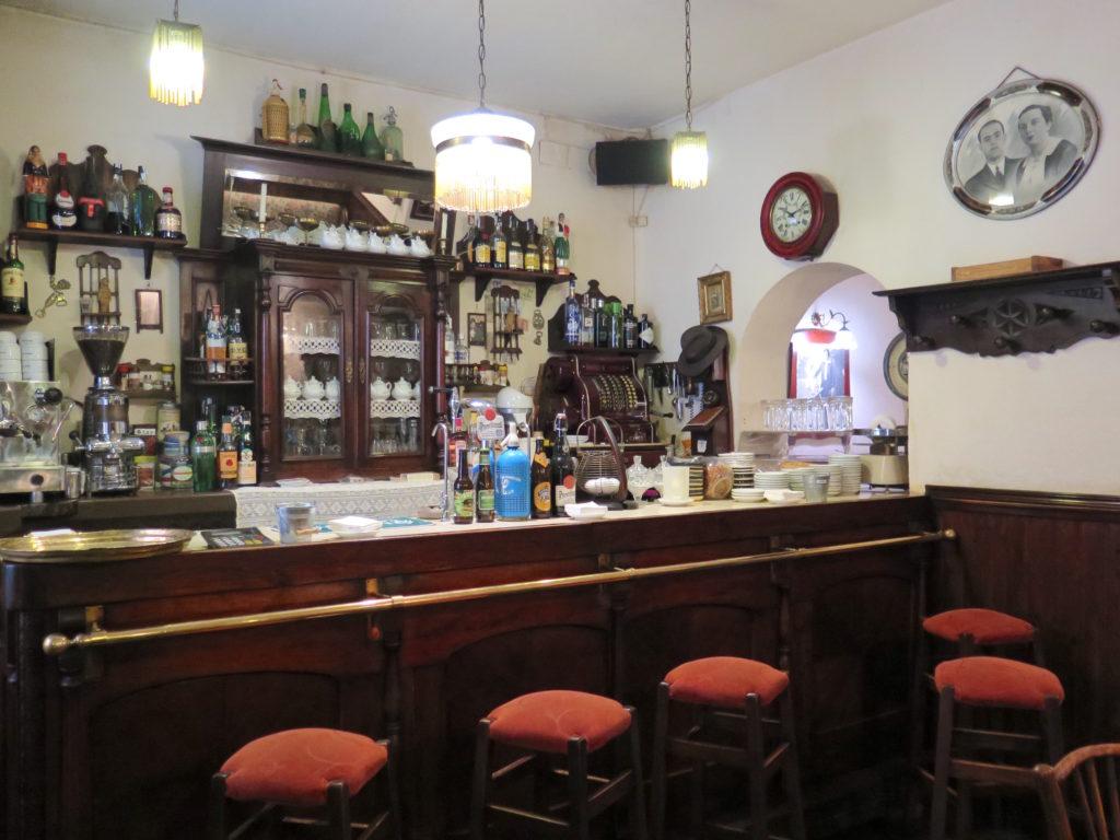 Ajenjo Café's stunning bar