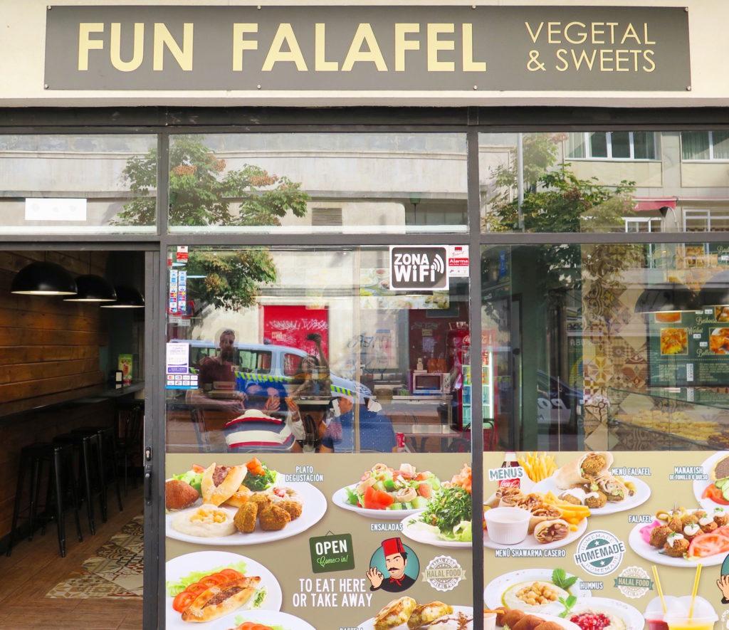 Fun Falafel's Store Front