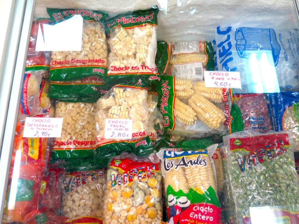 Frozen maiz