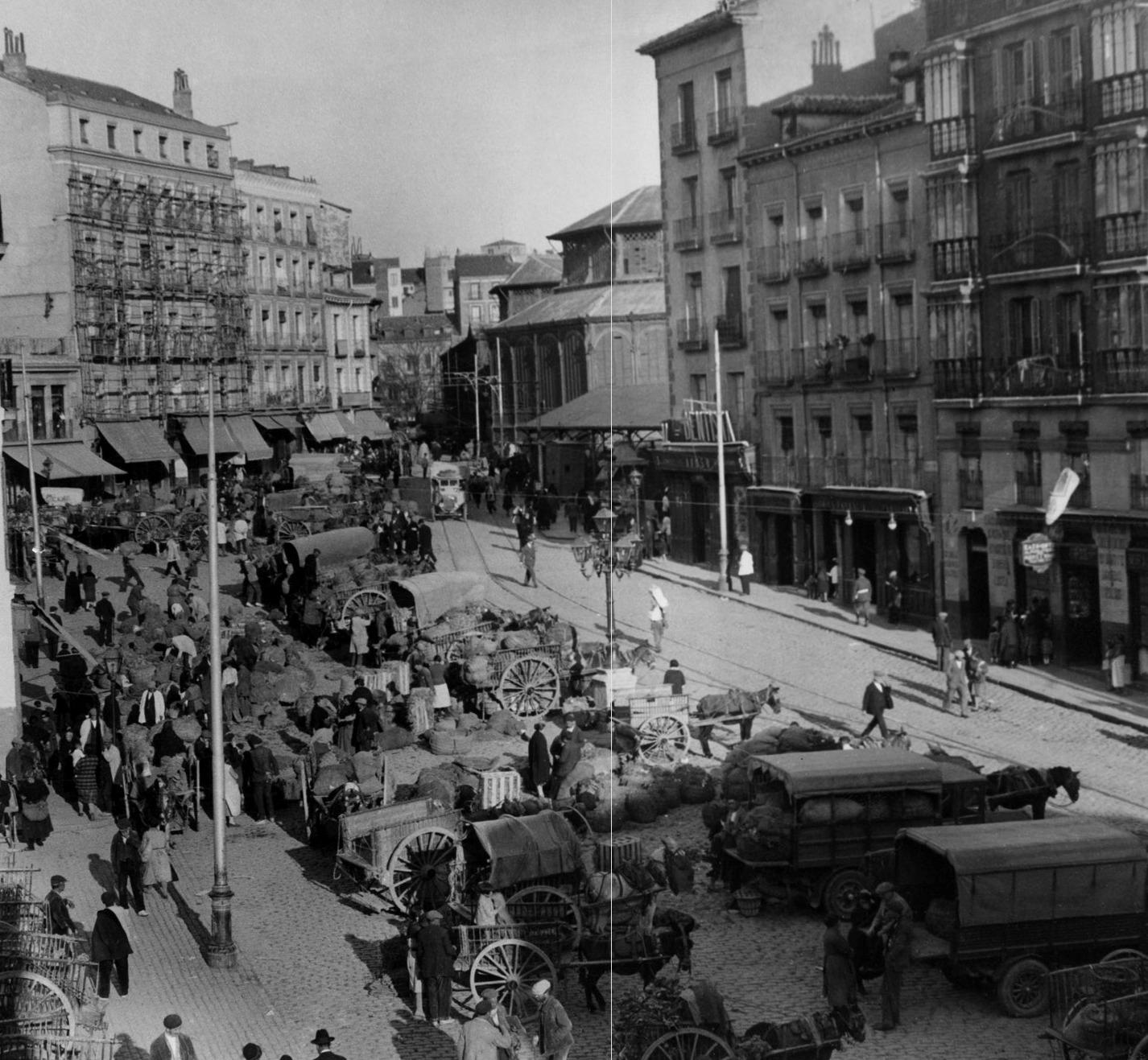Plaza de la Cebada, 1929