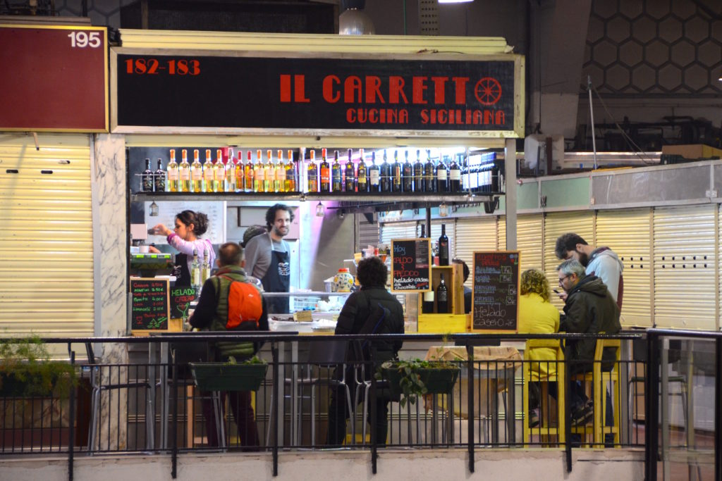 Opened this year, Il Carretto is a fantastic Sicilian eatery with great wine and light food.