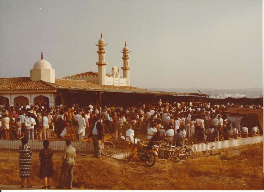 The first mosque here in over 700 years