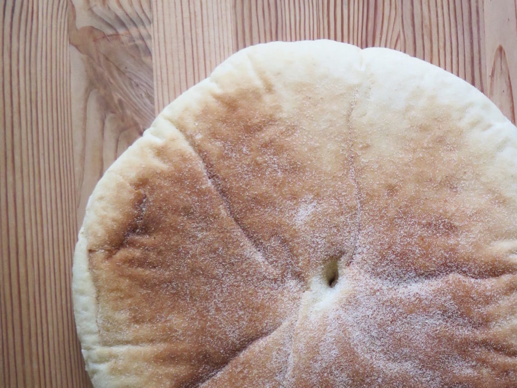 The delicious Syrian bread