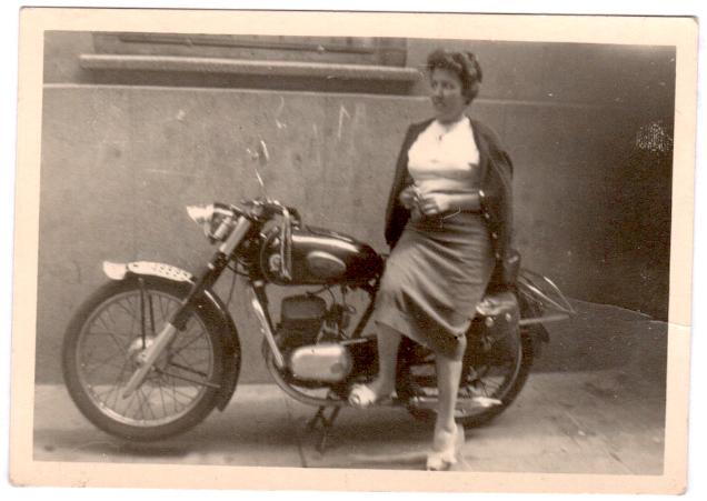 Eva's grandmother, Mari Luz