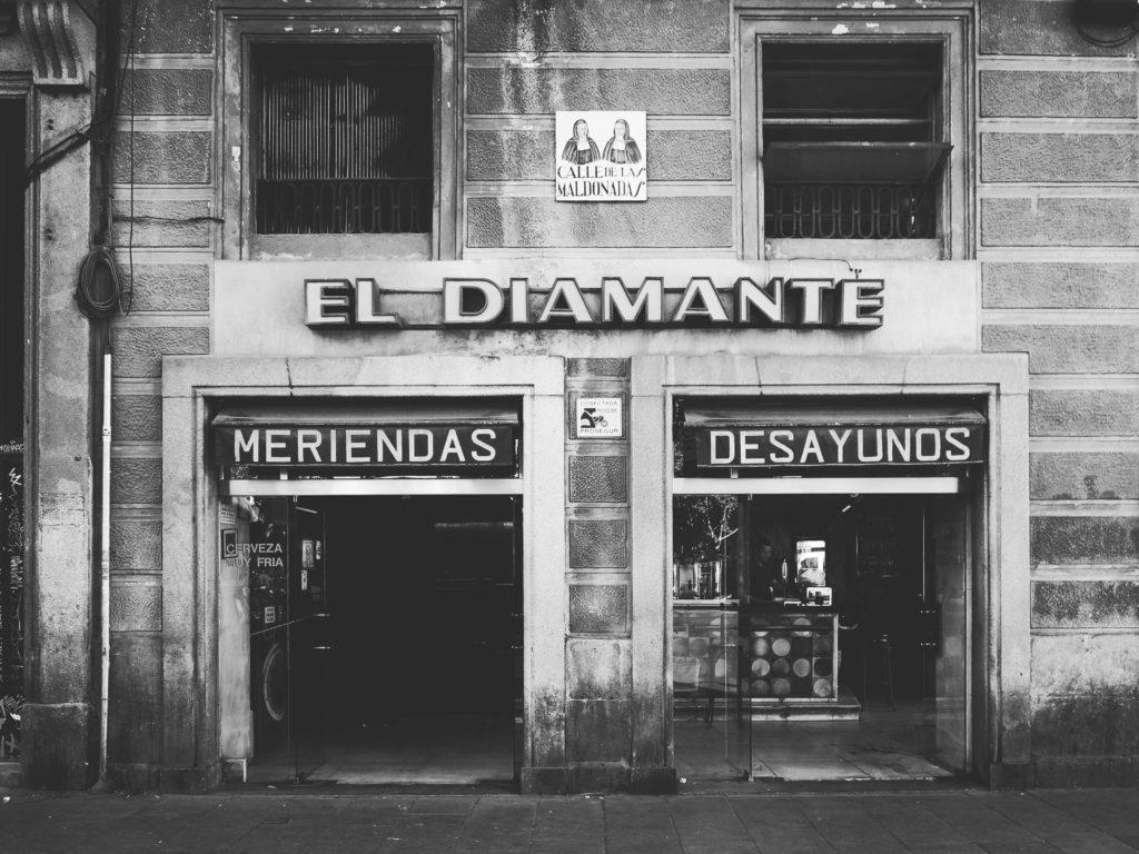 El Diamante in La Latina, now closed.