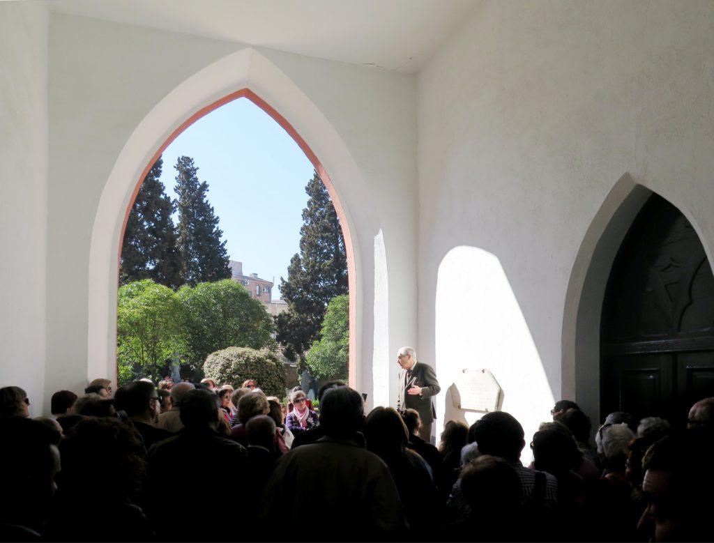 David Butler's British Cemetery tour