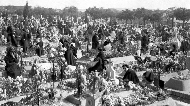 The traditional annual cemetery visit
