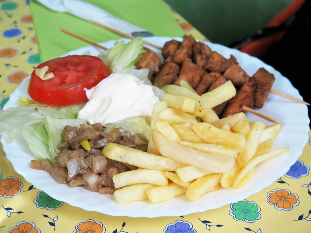 Dibi: Another of Dakar's regular dishes