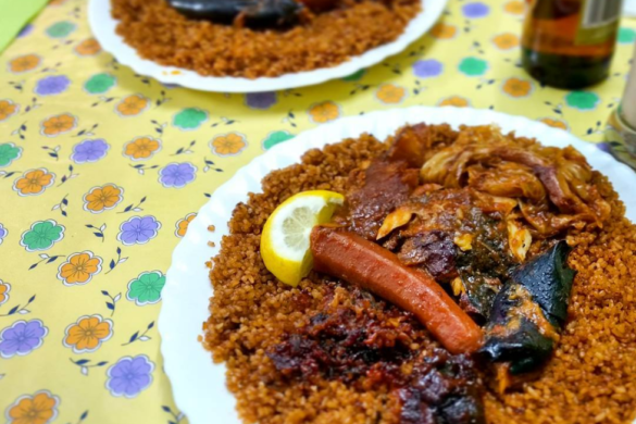 Senegal's most famous dish: ThiebouDienne