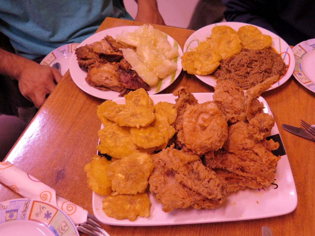 Just some of the amazing Cuban meat dishes