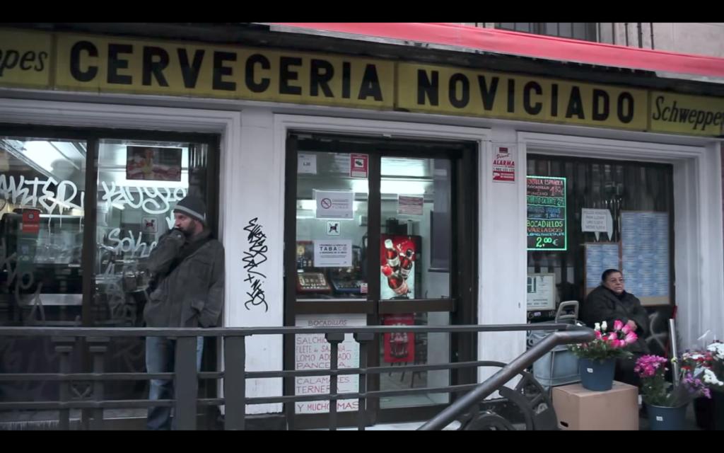 Cervecería Noviciado, now closed.
