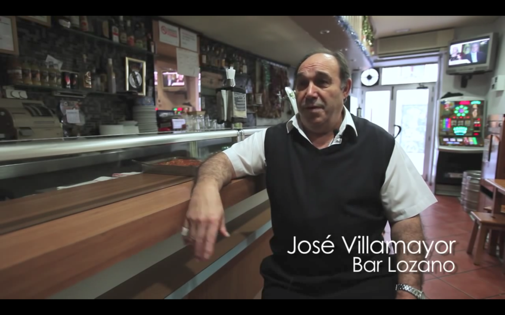 José Villamayor, owner of Bar Lozano