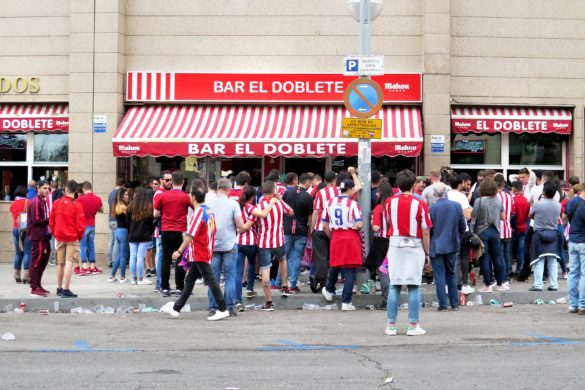 Bar El Doblete, now closed a about to be demolished