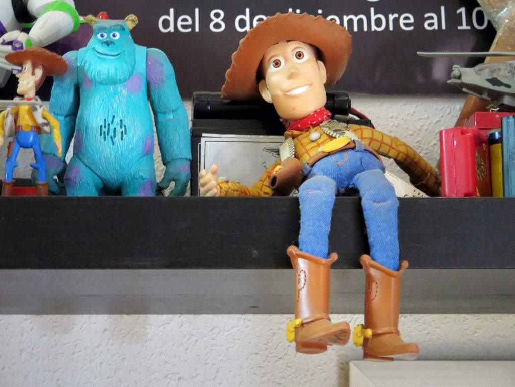 Woody and friends