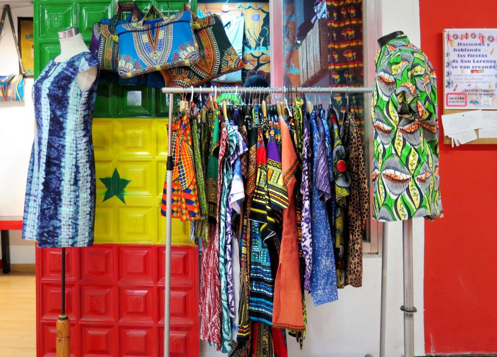Beautiful garments made by Laye