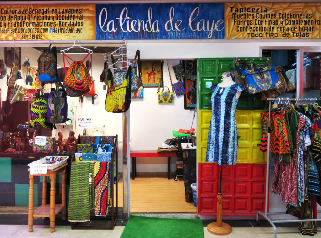 Laye's little shop
