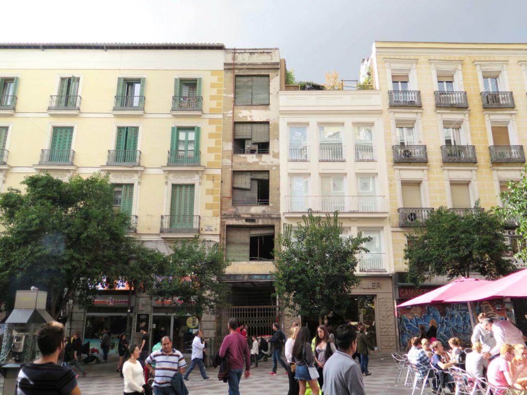 Abandoned on Calle Montera