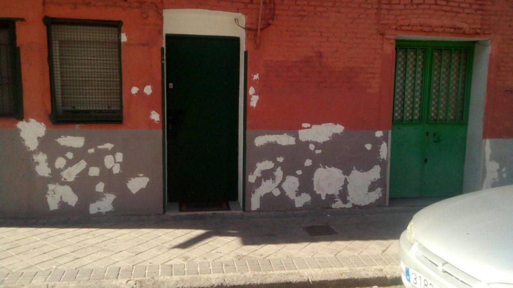 Plastered shrapnel marks (© FUNDACIÓN AGFITEL)