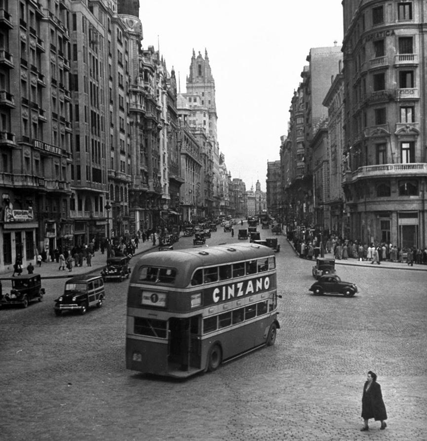 Gran Vía, 1949