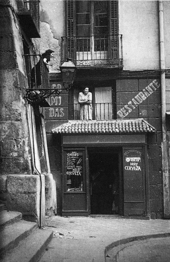 Calle Cuchilleros, 1950