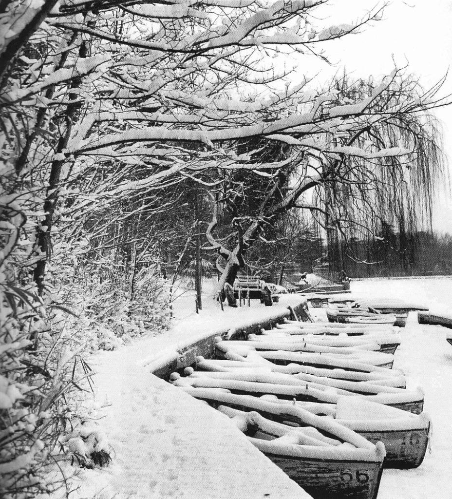 Retiro lake, 1960
