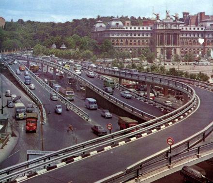 Glorieta de Atocha, 1968