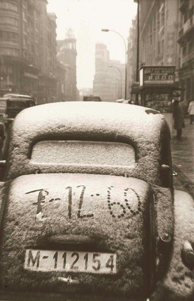 Gran Vía, 7 December 1960