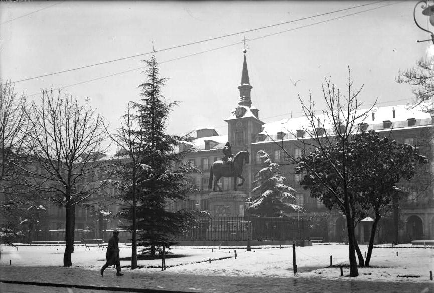 Plaza Mayor, 1927
