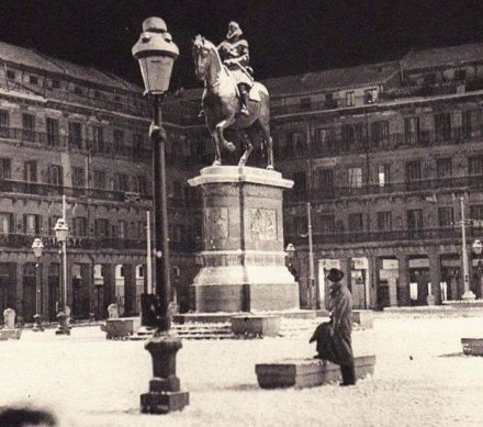 Plaza Mayor around 1950