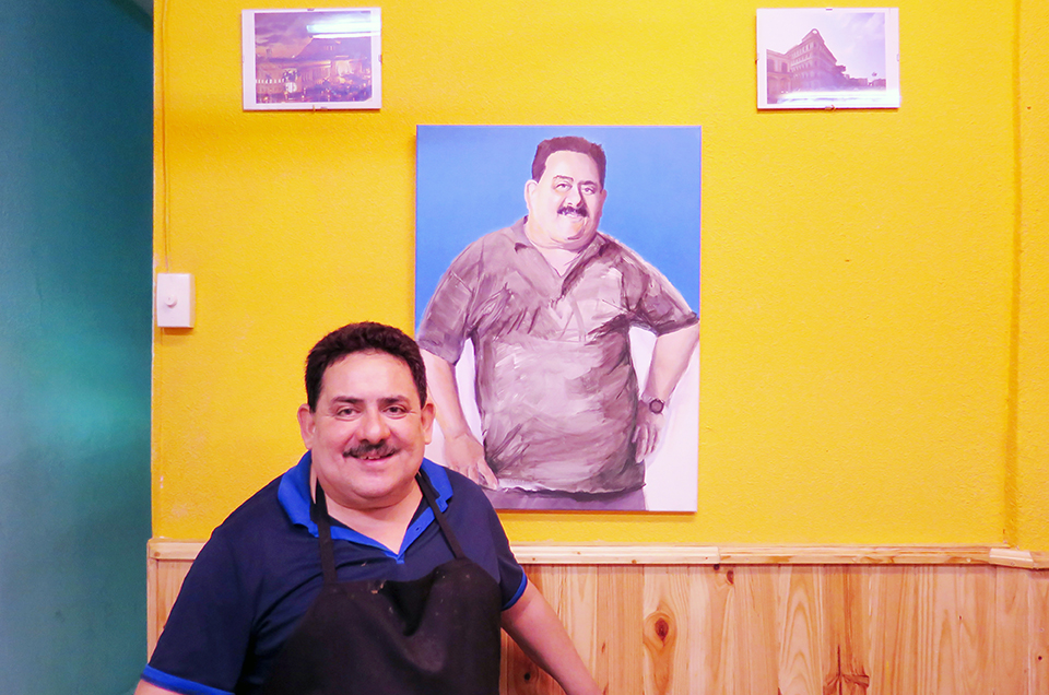 Jesús, owner of Cuban bar Rincon de Marco