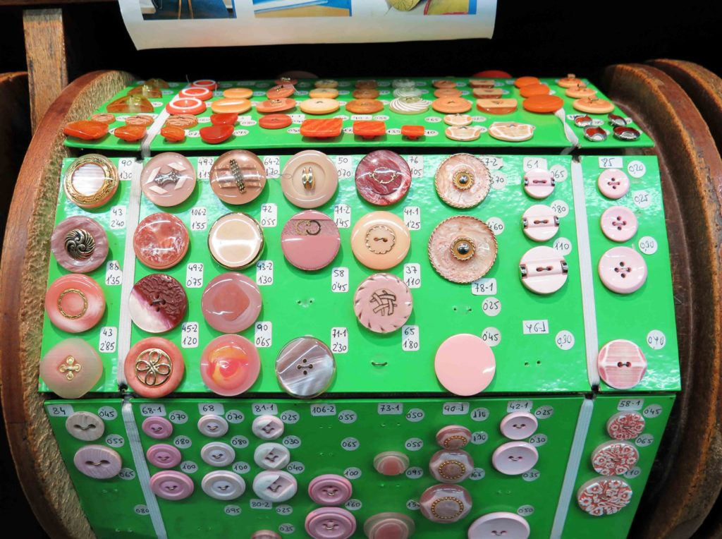 Buttons of every shape, size, colour, pattern…