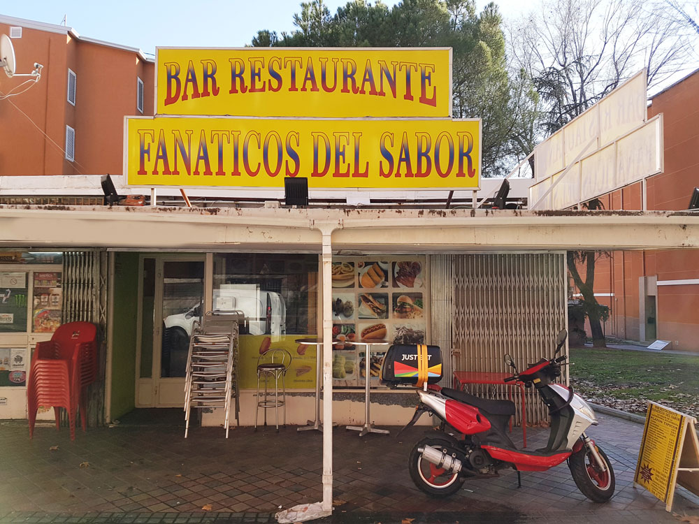 Ecuadorian food at Fanaticos del Sabor