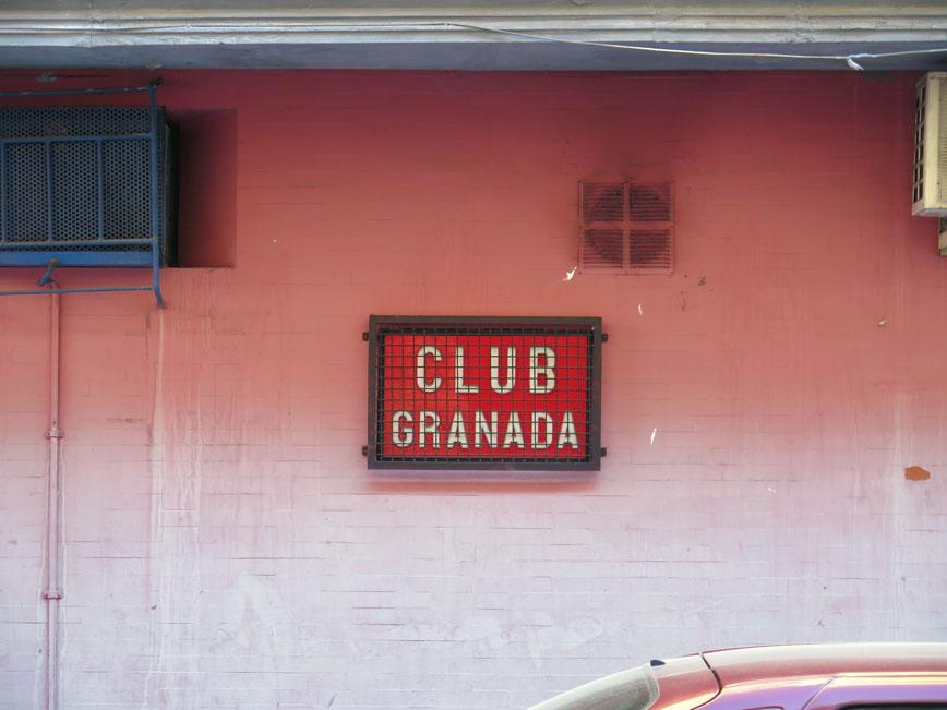 Closed: Club Granada