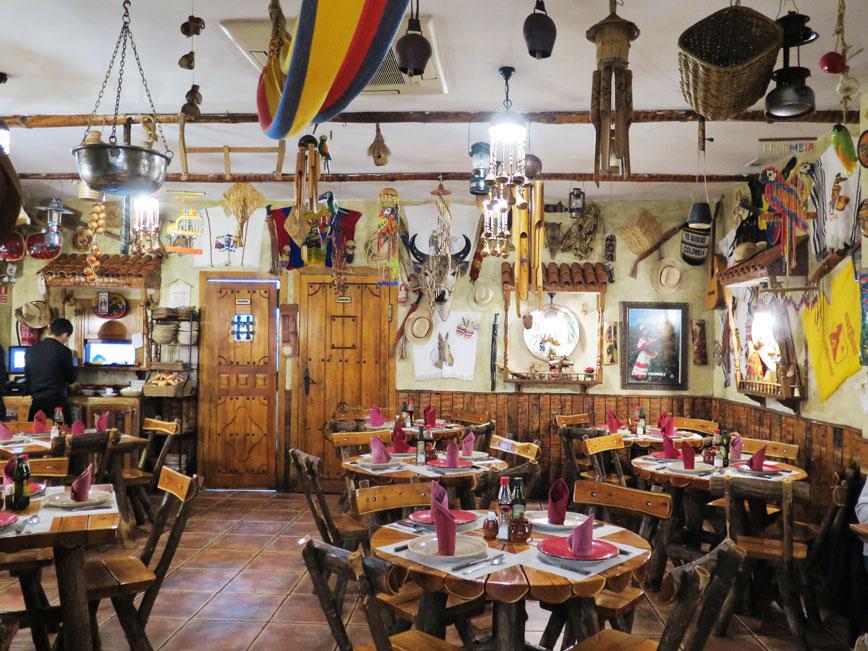 Restaurante la Fonda de Colombia