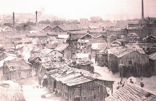 The old slum by the Casa de Baños
