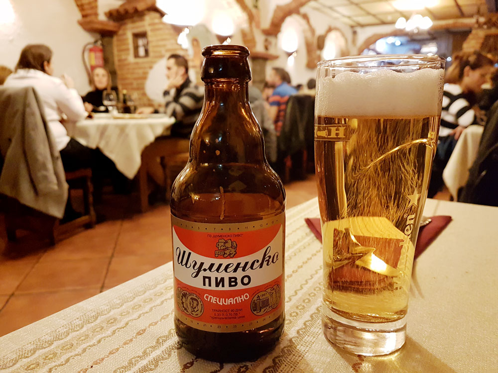 Shumensko beer