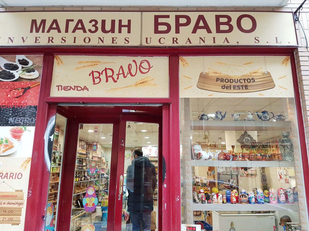 Bravo Tienda Rusa