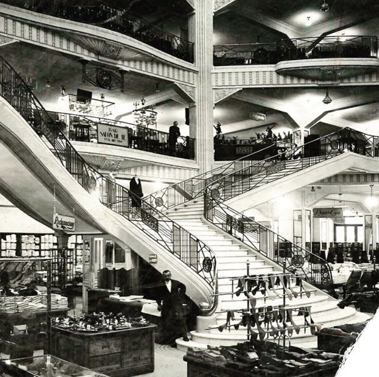 Before Primark, this building hosted a department store