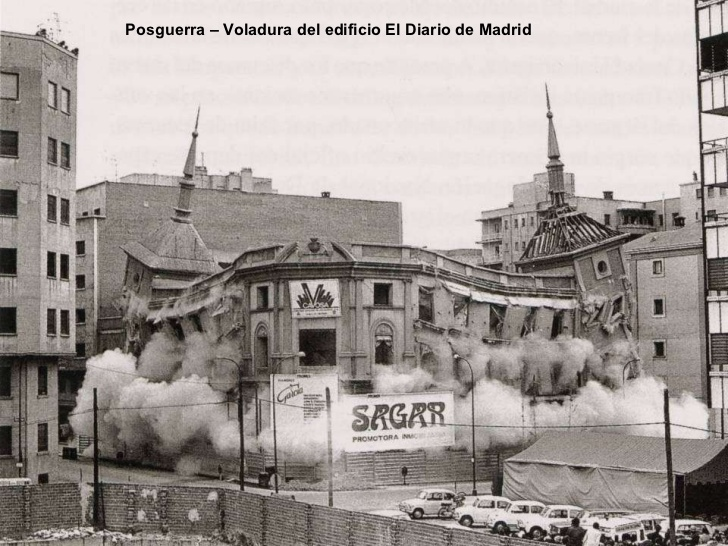 The controversial demolition in 1973