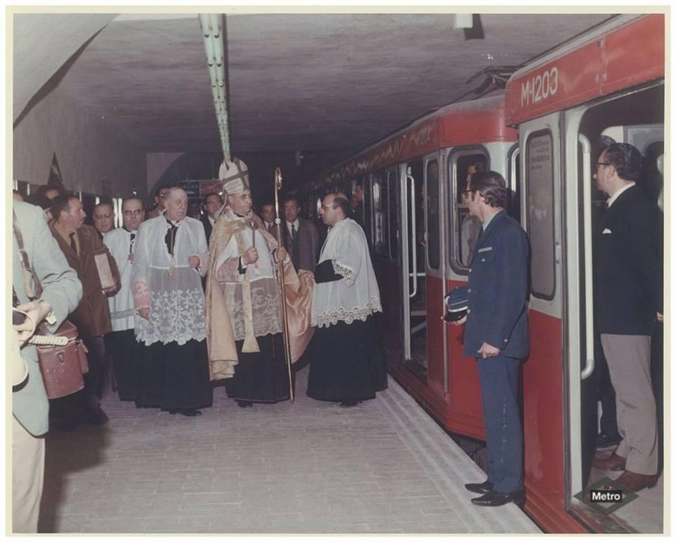 Metro line 5 inauguration