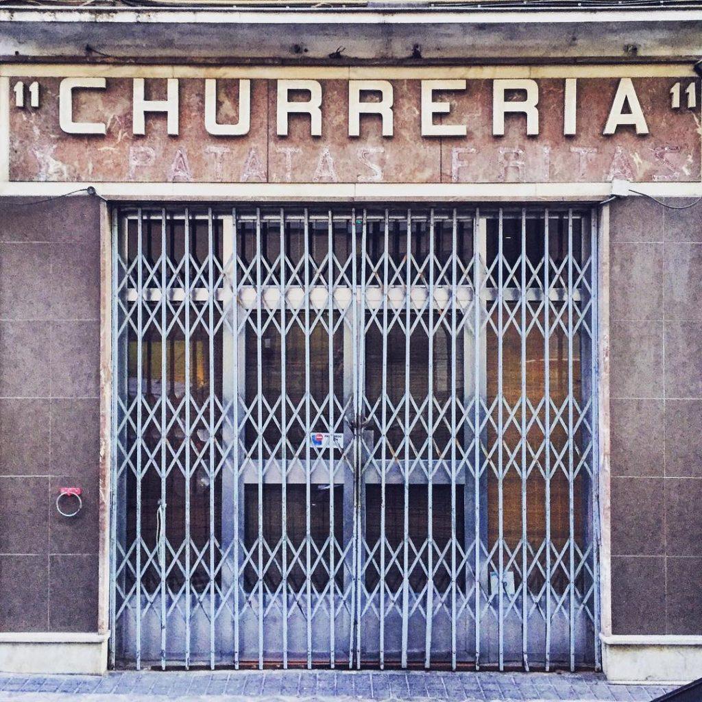 The churrería