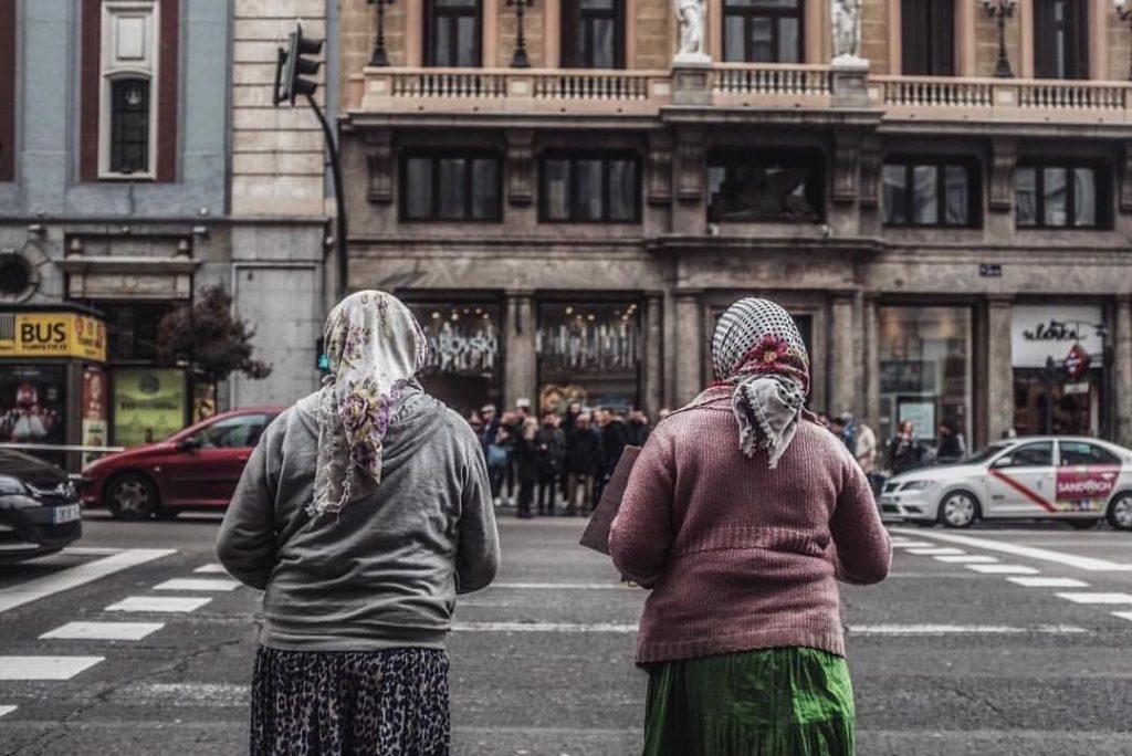 Roma Gypsies on Gran Vía