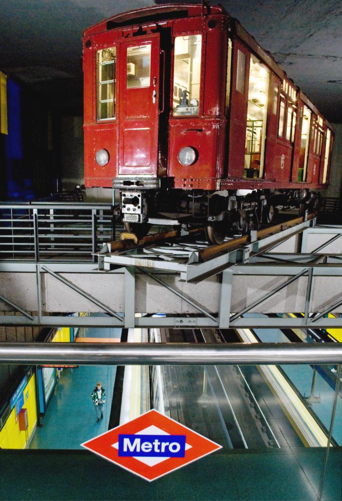 The old metro at Alto de Arenal