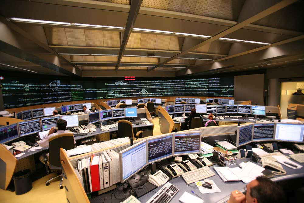 Metro de Madrid Control centre © Metro Madrid